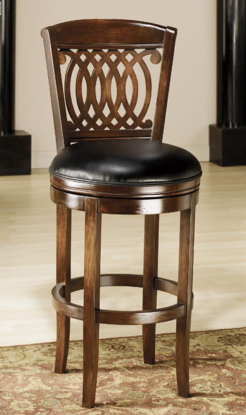 Vienna Swivel Bar Stool Tobacco Finish 60956 Decor  : vienna swivel bar stool tobacco 1 from www.decorsouth.com size 356 x 600 jpeg 76kB