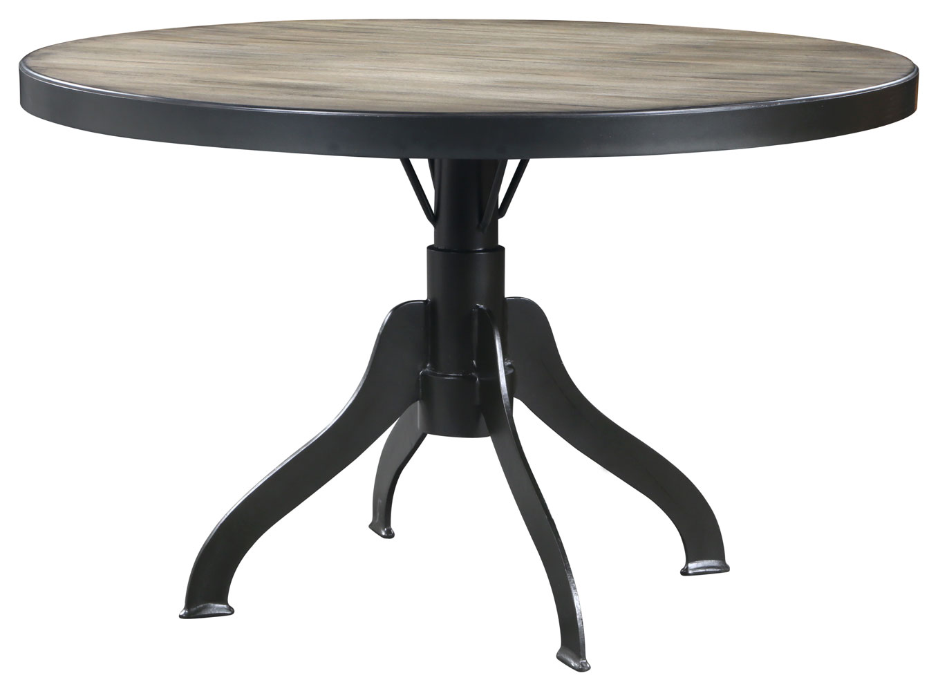 Round kitchen table sets for 6 kitchen wallpaper - Steel kitchen tables ...