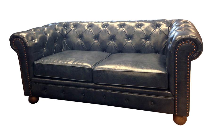 Amazing Winston Vintage Loveseat Blue Lc10602Atbl Decor South Machost Co Dining Chair Design Ideas Machostcouk