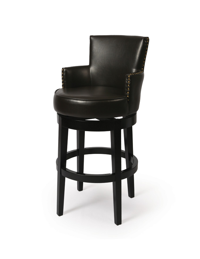 Zadar Bar Stool Feher Black amp Bonded Brown Finish ZA  : zadar bar stool feher black bonded brown 1 from www.decorsouth.com size 695 x 900 jpeg 44kB