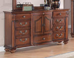 Barkley Square Dresser (Warm Oak Finish)