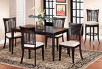 Bayberry Dining Set (Dark Cherry Finish)