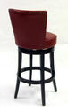 Boston Swivel Counter Stool (Red) - [LC4044BARE26] 1