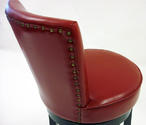 Boston Swivel Counter Stool (Red) - [LC4044BARE26] 2