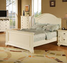 Brook Bed (White Finish)