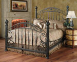 Chesapeake Bed (Rustic Old Brown Finish)