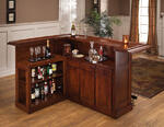 Classic Large Bar with Side Bar (Cherry Finish) - [62578AXCHE]