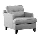 Eden Chair (Cement Gray Fabric)