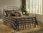 Ennis Bed (Rubbed Gold Finish)