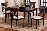 Glenmary Dining Table (Dark Cherry Finish)