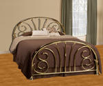 Jackson Bed (Classic Brass Finish)