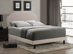 Lawler Bed (Cream Fabric)