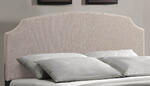 Lawler Bed (Cream Fabric) - [1299BQRL] 1