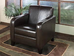 Lawrenceville Club Chair (Brown Leather)