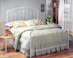 Maddie Bed (Glossy White Finish)