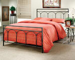 Mckenzie Bed (Brown Steel Finish)