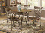 Montello Round Dining Set (Old Steel Finish)