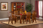 Outback 7 Piece Dining Set (Distressed Chestnut Finish)