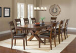 Park Avenue Trestle Dining Table (Dark Cherry Finish) - [4692DTB] 1
