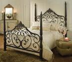 Parkwood Bed (Black Gold Finish)