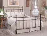 Providence Bed (Antique Bronze Finish)