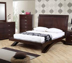 Raven Bed (Dark Cherry Finish)