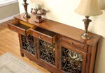 Scroll Console (Walnut) - [246-335] 1