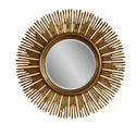 Soleil Wall Mirror (Gold Finish)