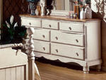 Wilshire Dresser (Antique White Finish)