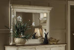 Wilshire Mirror (Antique White Finish)