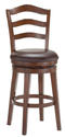 Windsor Swivel Counter Stool (Brown Cherry Finish)