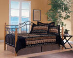 Winsloh Daybed (Medium Oak & Black Finish)