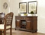 Woodridge Server (Walnut Finish)