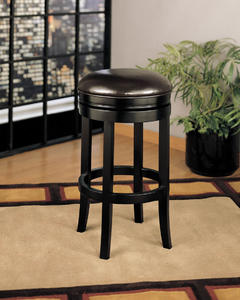 404 Backless Swivel Barstool (Brown) - [LCMBS404BAES30]