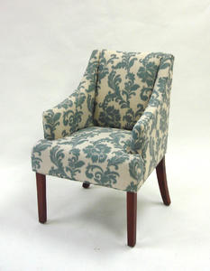 Accent Chair (Ikat Slate) - [LC2988CLGR]