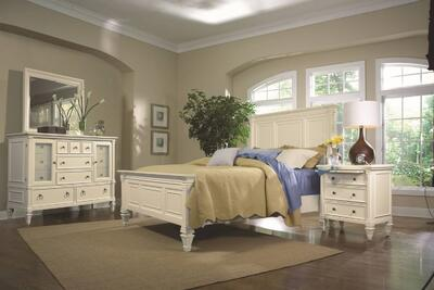 Ashby Bedroom Set (Patina White)