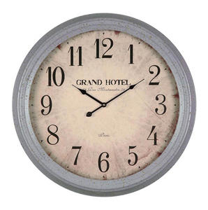 Asher Clock (Aged French Blue) - 25 x 25 - [40227]
