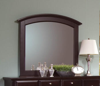 Hamilton Franklin Landscape Mirror (Merlot Finish)