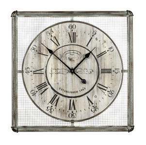 Bartow Clock (Distressed Cream) - 26