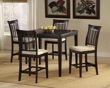 Bayberry Counter Height Dining Set (Dark Cherry Finish) - [4783DTBSG]
