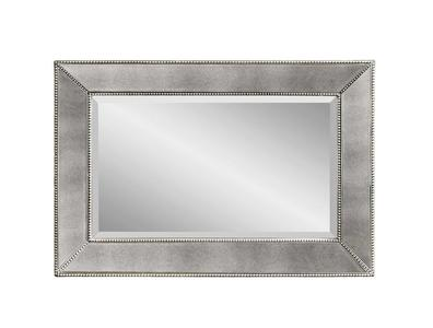 Beaded Wall Mirror (Antique Mirror Finish) - [M3341BEC]