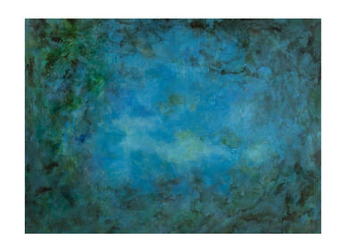 Caribbean Water (Canvas) - 70 x 96h - [7300-140EC]