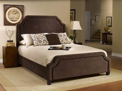 Carlyle Bed (Chocolate Finish)
