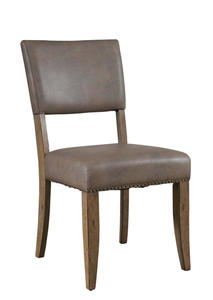 Charleston Parson Dining Chair - Set of 2 (Desert Tan Finish) - [4670-804]