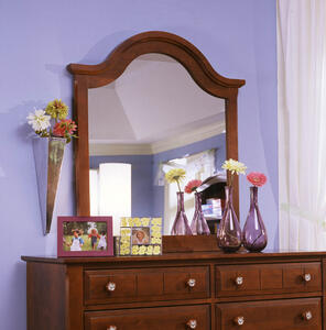 Cottage Collection Vertical Mirror (Cherry Finish)