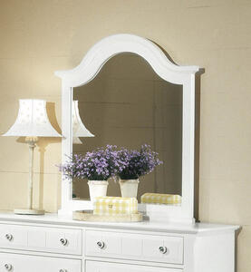 Cottage Collection Vertical Mirror (Snow White Finish)