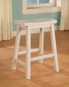 Color Story Counter Stool (Pure White) - [270-430]