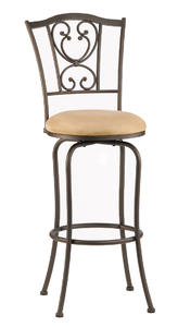 Concord Bar Stool (Brown Finish) - [4120-831]