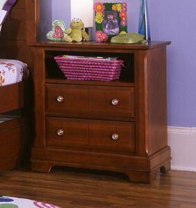 Cottage Collection Nightstand (Cherry Finish)
