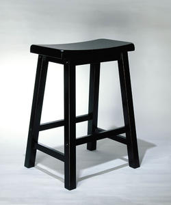 Counter Stool (Antique Black with Sand Through Terra Cotta) - [502-430]
